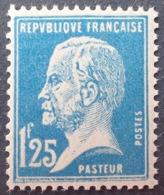 R1615/1376 - 1923 - TYPE PASTEUR - N°180 NEUF** - Cote : 55,00 € - 1922-26 Pasteur