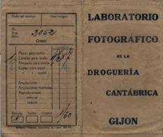 ASTURIAS / GIJÓN - LABORATORIO FOTOGRÁFICO , DROGUERIA CANTÁBRICA , PUBLICIDAD , FOTOGRAFIA , PHOTO , PHOTOGRAPHY - Material Y Accesorios