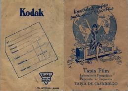 ASTURIAS / TAPIA DE CASARIEGO , PUBLICIDAD , FOTOGRAFIA , PHOTO , PHOTOGRAPHY , KODAK - Material Y Accesorios