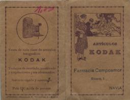 ASTURIAS / NAVIA , FARMACIA CAMPOAMOR - PUBLICIDAD , FOTOGRAFIA , PHOTO , PHOTOGRAPHY , KODAK - Material Y Accesorios
