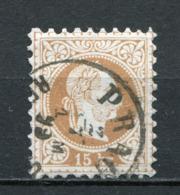 Osterreich Nr.39 II              O   Used              (3499) - 1850-1918 Empire