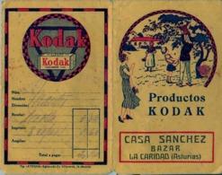 ASTURIAS / LA CARIDAD , CASA SÁNCHEZ - PUBLICIDAD , FOTOGRAFIA , PHOTO , PHOTOGRAPHY , KODAK - Material Y Accesorios