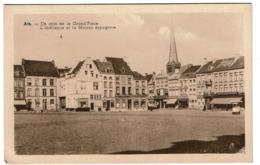 Ath - Un Coin De La Grand'Place - L'Obélisque Et La Maison Espagnole - Edit. Théry - 2 Scans - Ath