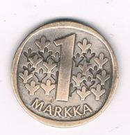 1 MARKKA  1966  FINLAND /8181/ - Finlandia