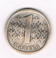 1 MARKKA  1966  FINLAND /8181/ - Finland