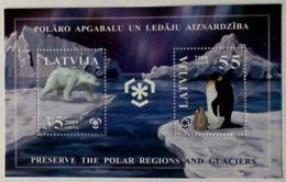 2009 LATVIJA Preserve The Polar Regions And Glaciers - Latvia