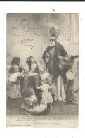 St Nicolas Avec Enfants Col GID Nantes Leger Pli Voir Scan - Saint-Nicolas