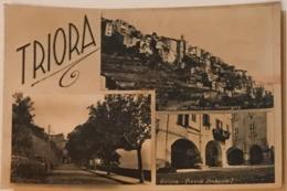 Triora Vedutine - Passeggiata Panorama E Piazza Umberto I - Imperia