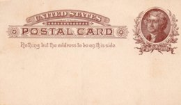 ÉTATS-UNIS - Entier Postaux Postal Card - Interi Postali