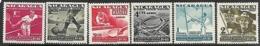 Nicaragua  1949   Sc#C296-9, C306-7  6 Diff  MH  2016 Scott Value $8.40 - Nicaragua