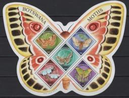 Botswana (2000) Yv. Bf. 31  /  Butterflies - Butterfly - Papillon - Insects - Vlinders - UNUSUAL Shape - Butterflies