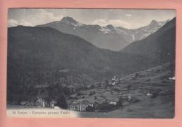 OUDE POSTKAART ZWITSERLAND - SVIZZERA -  Dalpe - Cornone Presso Faido - TI Tessin
