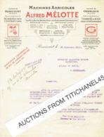 GEMBLOUX - REMICOURT 1927 - ALFRED MELOTTE - Fabricant De Machines Agricole , Charrues, écrémeuses... - Belgique