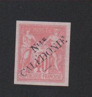 Reproduction Nouvelle-Calédonie N° 19 Surchargé Nsg - Unused Stamps