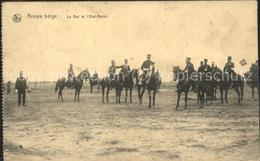 11496533 Belgien Armee Belge Pferde - België