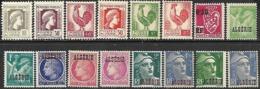 Algeria   1944-8  16 Diff To The 10fr  MLH     2016 Scott Value $10.50 - Algeria (1924-1962)