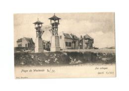 Plage De Westende   Les Cottages  (1902). - Westende