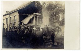 KORTRIJK - COURTRAI - Fotokaart - Carte Photo - Bombardement Volkspark 16/8/1917 - Kortrijk