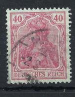 Deutsches Reich 145 II Gest., Geprüft Infla - Germania