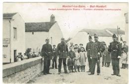 Mondorf-les-Bains-Bad-Mondorf (Deutsch-Luxemburgische Grenze-Frontière Luxembourgeoise (éd,N.Schumacher.état - Postcards