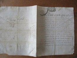 25 JUILLET 1714 PARCHEMIN GEN.DE ROUEN - Gebührenstempel, Impoststempel