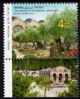 Israel - 2010 - Garden Of Gethsemane In Jerusalem - Joint Issue With Vatican - Mint Stamp With Tab - Israele