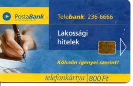 Postabank Poste Banque Bank Monnaie  Timbre Stamp Télécarte Hongrie Phonecard  (G 209)) - Timbres & Monnaies