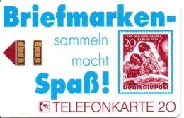 Timbre Stamp Télécarte Allemagne  1000 Exemplaires Phonecard  (G 210)) - Francobolli & Monete