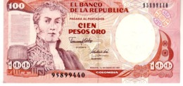 Colombia P.426 100 Pesos 1-01-1991 Unc - Colombia