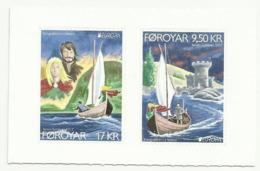 FEROE N° 890 891 NEUFS AUTOCOLLANTS DE 2017 - Bateau Voilier - Färöer Inseln