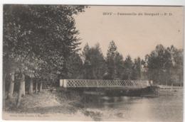 Cpa  Moy Sur Aisnes , Passerelle Du Becquet, Carte Allemande Du 31.10.1915 (A 45) - Autres Communes