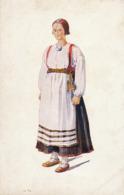 Art Card In Color Vaimo Pyhajatvi Finland  . Belle Femme - Finlande