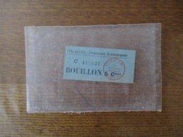 VILLE DE LILLE-FOURNEAUX ECONOMIQUES BOUILLON 5 Cme C 129631 LE RECEVEUR MUNICIPAL TICKET - Documents Historiques