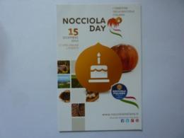 """Cartolina Pubblicitaria """"NOCCIOLA DAY 15 Dicembre 2012"""" - Manifestazioni"""