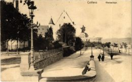 CPA AK Koblenz- Rheinanlage GERMANY (903556) - Koblenz