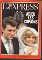 L'Express N°722 Avec JOHNNY HALLIDAY ET SYLVIE VARTAN  En Couverture (avril 1965 ) - Livres, BD, Revues