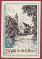 Allemagne 1 Notgeld  De 75 Pfenning Stadt  Itzehoe  (RARE )   Dans L 'état N° 4941 - [ 3] 1918-1933 : República De Weimar