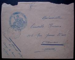 Cercy-la-Tour (Nièvre) 1917 8eme Corps D'armée Hôpital Temporaire N°1 - WW I