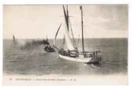DUNKERQUE  SORTIE D UNE GOELETTE ISLANDAISE - Dunkerque