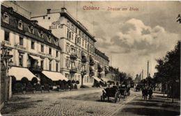 CPA AK Koblenz- Strasse Am Rhein GERMANY (903724) - Koblenz