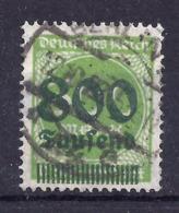Deutsches Reich 304 Gest., Geprüft Infla - Used Stamps