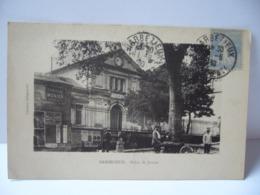 BARBEZIEUX 16 CHARENTE PALAIS DE JUSTICE CPA 1930 - Frankrijk