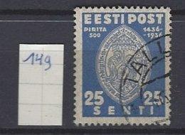 Estland Y/T 149   (O) - Estonia