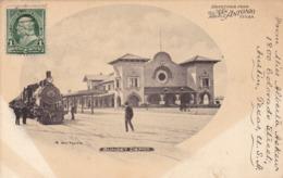 57/ Greetings From San Antonio, Texas, Sunset Depot, Nic Tengg, Station, Stoomtrein - San Antonio