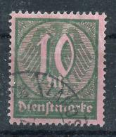 Deutsches Reich Dienst 71 Gest., Geprüft Infla - Officials