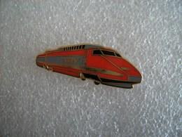 Pin's TGV Rouge Ballard - TGV