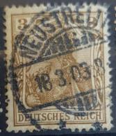 DEUTSCHES REICH 1902 - Nice NEUSTRELITZ Cancel! - Mi 69 - 3pf - Gebruikt