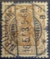 DEUTSCHES REICH 1902 - Nice NEUDAMM Cancel! - Mi 69 - 3pf - Gebruikt