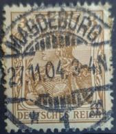DEUTSCHES REICH 1902 - Nice MAGDEBURG Cancel! - Mi 69 - 3pf - Usados