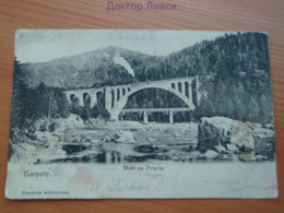 Pont Du Prut Des Carpates Karpaty Most Prucie Pologne Polska - Polonia